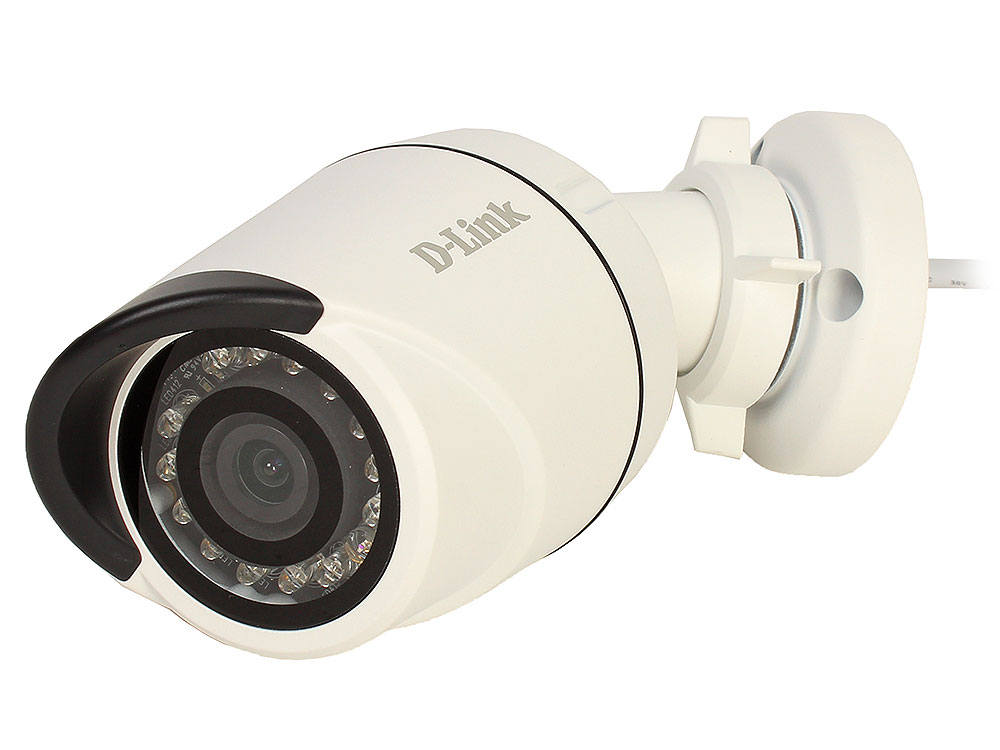 Камера IP D-Link DCS-4703E/UPA/A1A 3 Мп внешняя сетевая камера, день/ночь, c ИК-подсветкой до 20 м, PoE и WDR