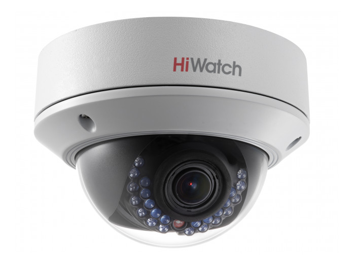 IP-камера HiWatch DS-I128 (2.8-12 mm) 1.3Мп уличная купольная IP-камера с ИК-подсветкой до 20м 1/3'' Progressive Scan CMOS; объектив 2.8-12мм; угол о ip камера hiwatch ds i126 2 8 12 mm 1 3мп уличная цилиндрическая ip камера с ик подсветкой до 30м 1 3 progressive scan cmos объектив 2 8 12мм у