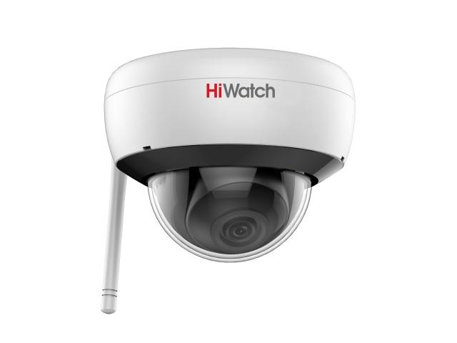 IP-камера HiWatch DS-l252W (2.8mm) 2Мп внутренняя IP-камера c ИК-подсветкой до 30м и Wi-Fi ip камера hiwatch ds l203 4 mm 2мп уличная ip камера с exir подсветкой до 30м 1 2 8