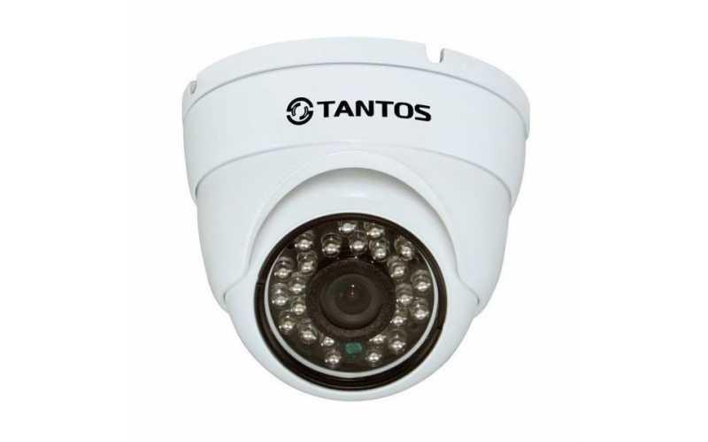 IP-камера TANTOS TSi-Ebecof22 (3.6) 2 мегапиксельная купольная IP видеокамера ahd камера tantos tsc di960pahdf 3 6mm
