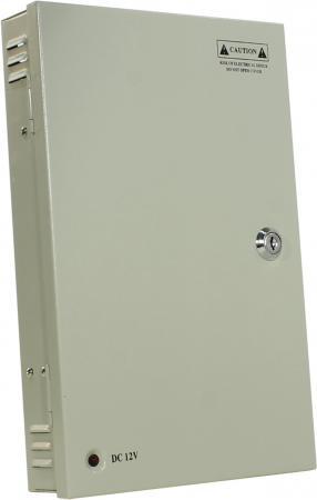 Блок питания ORIENT PB-1810, OUTPUT: 12V DC AC 100-240V/ DC 12V, 18 выходов x 550mA ( Imax ~ 10A ), стабилизированный, защита от КЗ, ручная подстройка зарядное устройство orient pa 06 12v dc 3a orient pa 06