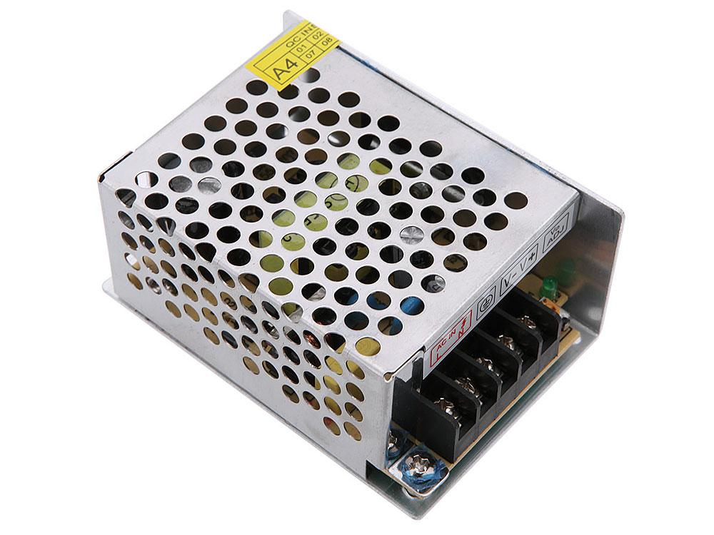 Блок питания ORIENT PB-0205 Импульсный блок питания, AC 100-240V/ DC 12V, 2.0A, стабилизированный, защита от КЗ и перегрузки, ручная рег-ка Uвых, винт зарядное устройство orient pa 06 12v dc 3a orient pa 06