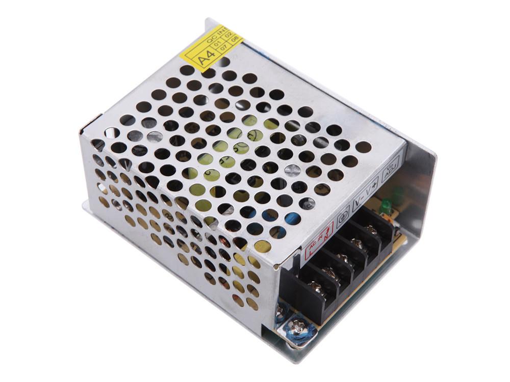 Блок питания ORIENT PB-0210 Импульсный блок питания, AC 100-240V/ DC 12V, 3.5A, стабилизированный, защита от КЗ и перегрузки, ручная рег-ка Uвых, винт зарядное устройство orient pa 06 12v dc 3a orient pa 06