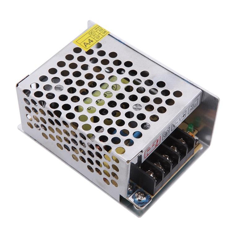 Блок питания ORIENT PB-0405 Импульсный блок питания, AC 100-240V/ DC 12V, 5.0A, стабилизированный, защита от КЗ и перегрузки, ручная рег-ка Uвых, винт зарядное устройство orient pa 06 12v dc 3a orient pa 06