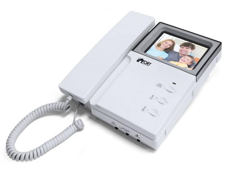 Видеодомофон FORT Automatics C0406 настольная лампа fort automatics tbl 03 синий