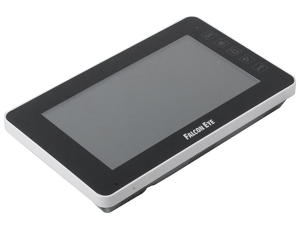 Комплект видеодомофона Falcon FE-70w цветной, сенсорный, 7 дюймов интерфейс Windows 8 Возможности подключения 2 вызывных панели, 4