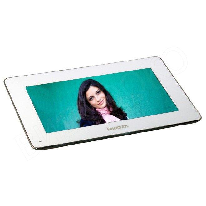 Комплект видеодомофона Falcon Eye FE-Slim + FE311C Цветной 7 сенсорный экран + Вызывная панель. подключение 2-х выз. панелей, фото