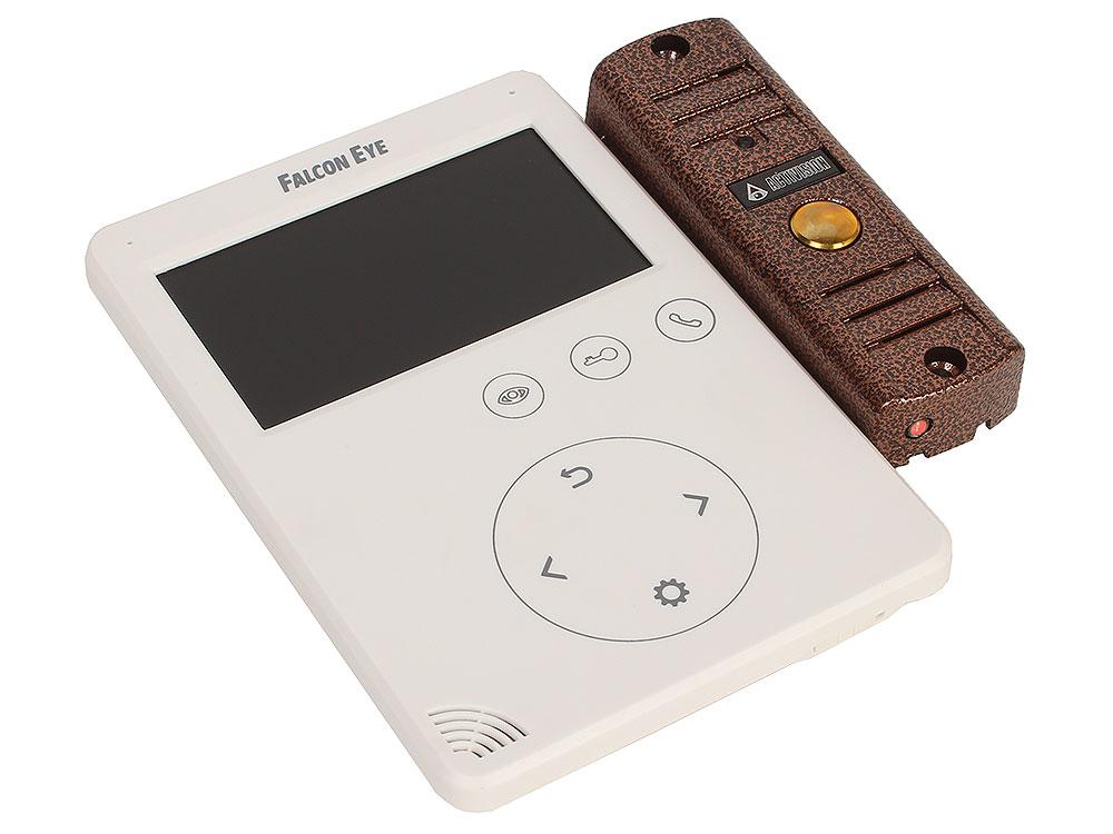 Комплект видеодомофона FE-PLUS (FE-VELA + AVP-508 PAL) Цветной видеодомофон TFT LCD экран 4.3