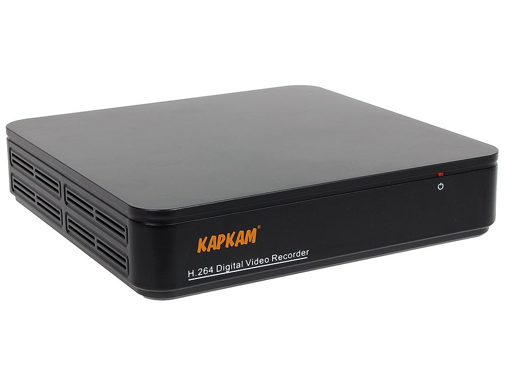 Гибридный цифровой 4-х канальный AHD видеорегистратор КАРКАМ 1204N
