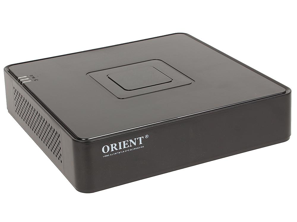 Видеорегистратор ORIENT NVR-8204POE 4-канальный сетевой регистратор для IP камер, 4 x 1080p со звуком, H.264, ONVIF 2.4, 1xHDD SATA до 4Tb, built-in P