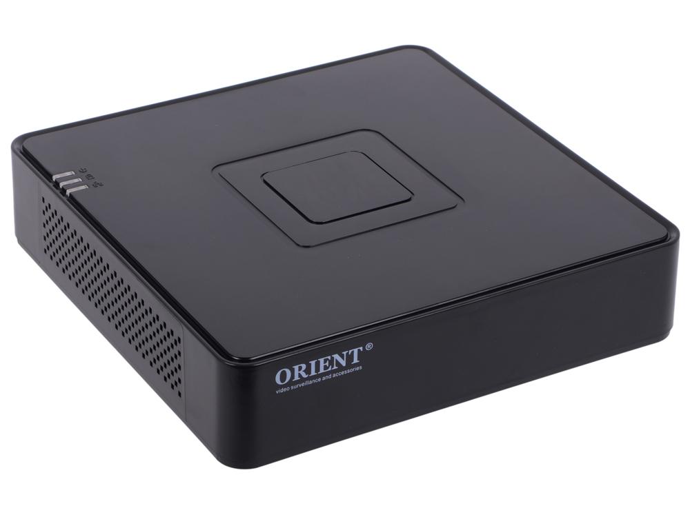 Видеорегистратор ORIENT HVR-8204H Гибридный регистратор (трибрид): 4xCVBS 960H/ 4xAHD-H 1080p/ 9xIP 1080p, синхронная запись звука,