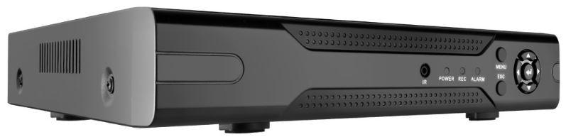 Регистратор Видеонаблюдения GINZZU HD-812 8-канальный 1080P гибридный 3 в 1 видеорегистратор