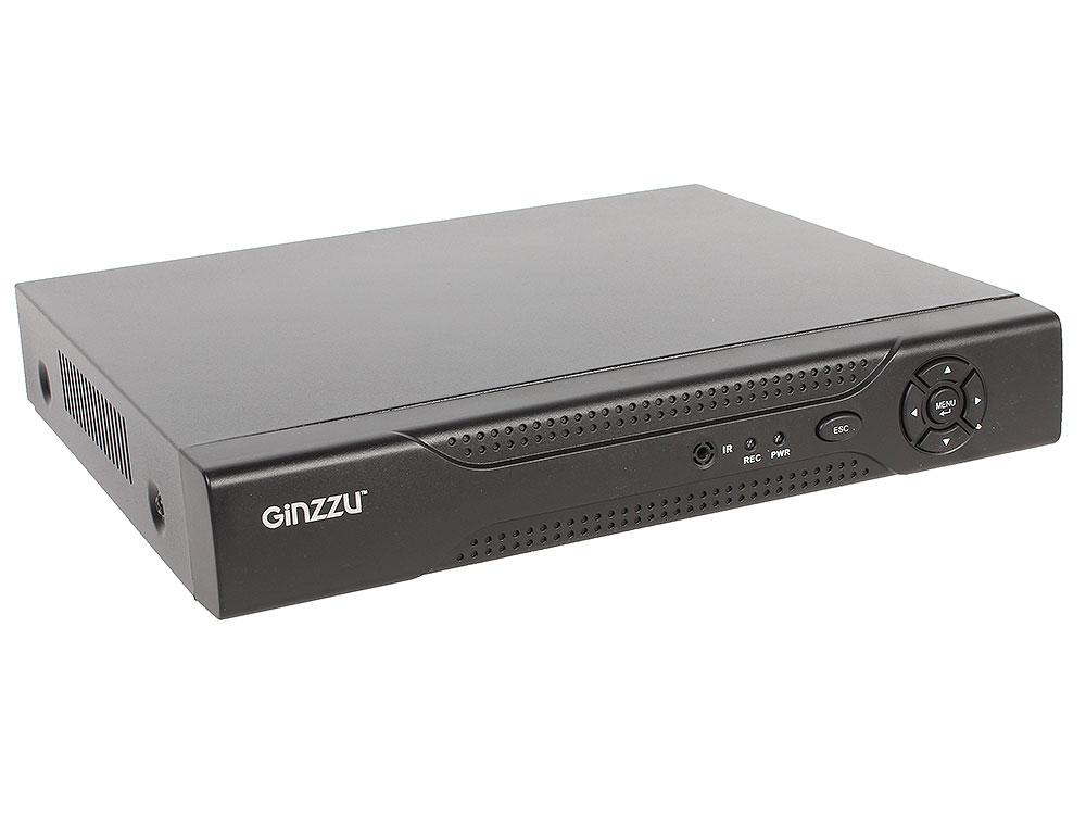 Регистратор Видеонаблюдения GINZZU HD-812 8-канальный 1080P гибридный 3 в 1 видеорегистратор видеорегистратор для видеонаблюдения