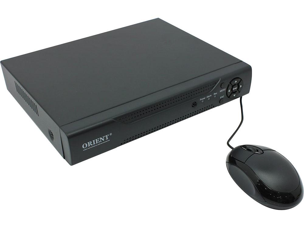 Видеорегистратор ORIENT NVR-8104/2M 4-канальный сетевой регистратор для IP камер, 4 x 1080p со звуком, Hisilicon Hi3520D, H.264, ONVIF 2.4, 3.5