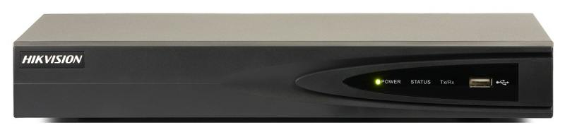 Видеорегистратор сетевой Hikvision DS-7604NI-E1/4P 1920x1080 2хHDD 4Тб 2хUSB2.0 до 4 каналов PoE