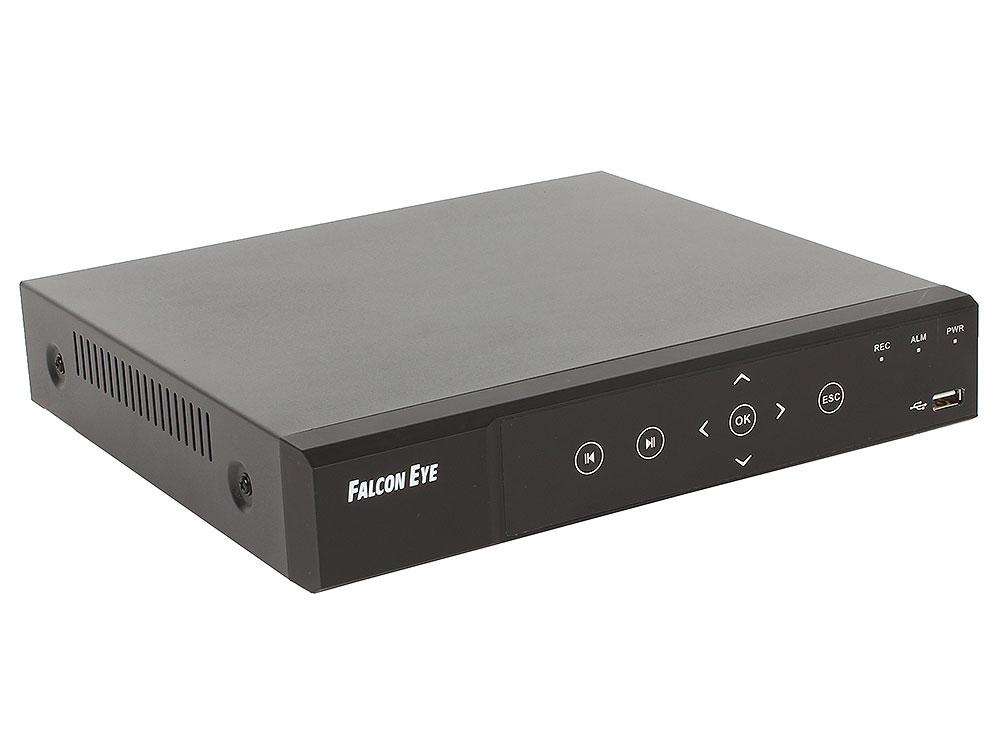 Видеорегистратор Falcon Eye FE-4104AHD.1 Eco 4-х канальный AHD регистратор 1080P; Видеовыходы: VGA;HDMI; Видеовходы: 4xBNC;Разрешение записи до 1920*