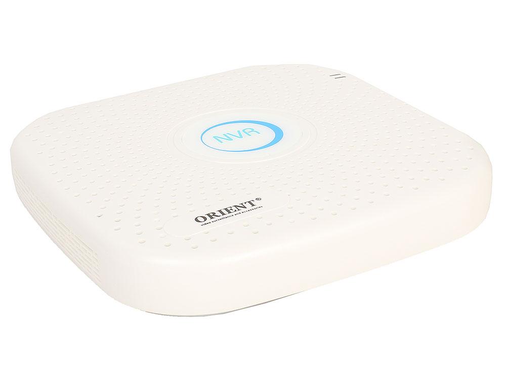 Видеорегистратор ORIENT NVR-8316/4 16-канальный сетевой для IP камер, 16 x 4K (4096x2160) со звуком, Hisilicon Hi3798, H.264/H.265/G.711u, ONVIF 2.4,