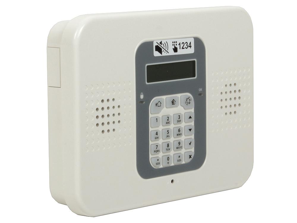 Комплект GSM/PSTN сигнализация FE Commpact KIT  DIY (SIM) Контрольная панель Commpact, беспроводной магнитоконтакт EL-2601, беспроводной ИК датчик EL- от OLDI