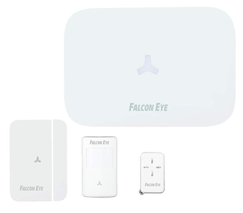 Комплект GSM/PSTN сигнализация FE Next Контрольная панель - 1 шт. Брелок дистанционного управления - 2 шт. Беспроводной магнитоконтакт - 1 шт.   Беспр от OLDI