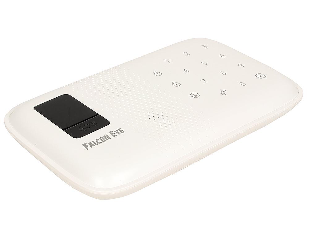 Комплект беспроводной GSM сигнализации Falcon Eye FE MagicTouch Комплект Контрольная панель со встроенной сиреной, считывателем  RFID карт, ИК датчик от OLDI