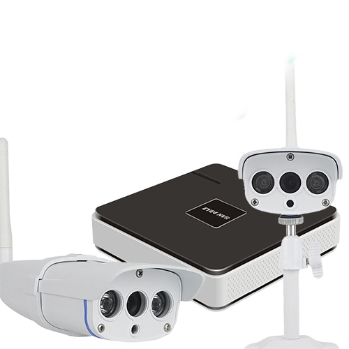 Комплект видеонаблюдения Vstarcam NVR-C16 KIT Vstarcam N400P + Беcпроводная IP-камера Vstarcam C7816WIP x2