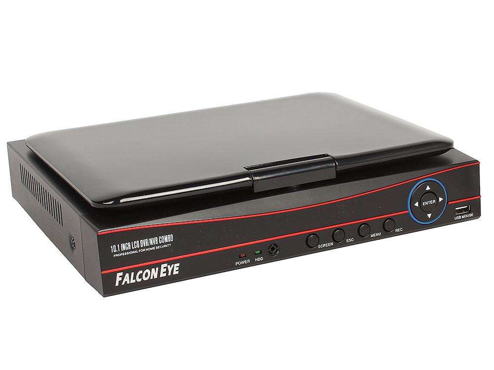 Комплект видеонаблюдения Falcon Eye FE-1104COMBO-KIT Light Регистратор AHD гибридный с дисплеем 10,1; Видеовыходы: VGA;HDMI; Видеовходы: 4xBNC;Разреш eplutus ep 1104 в тамбове