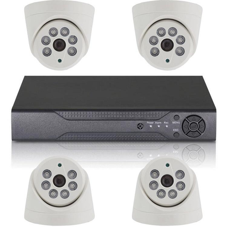 Комплект видеонаблюдения ORIENT XVR+4D/720p