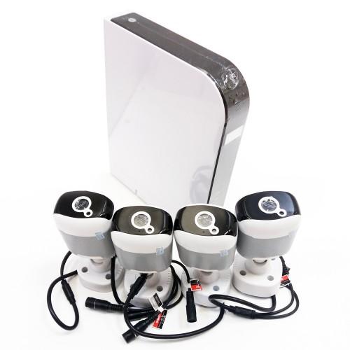 Комплект видеонаблюдения Vstarcam KIT P104 Регистратор + 4х 1Mp цилиндрических камеры.