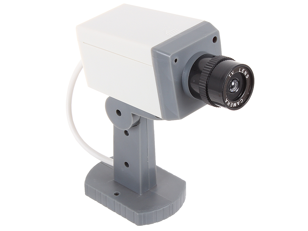 Муляж камеры видеонаблюдения Orient AB-CA-15, LED (мигает), датчик движения муляж камеры видеонаблюдения
