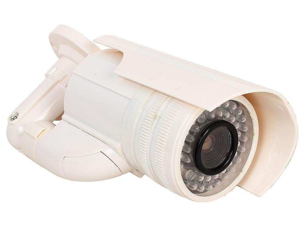 Муляж камеры видеонаблюдения Orient AB-CA-21 белый LED (мигает), для наружного наблюдения