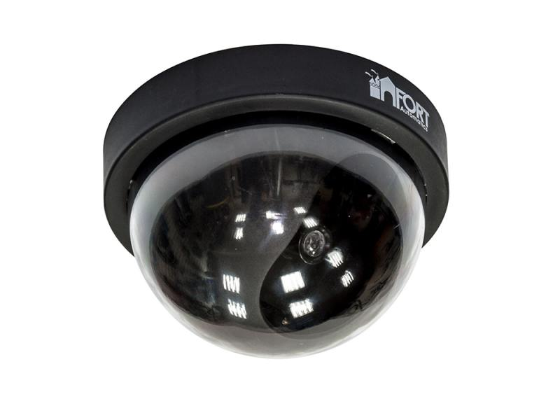 Муляж камеры видеонаблюдения FORT Automatics DC-020 купольное исполнение RET муляж камеры видеонаблюдения
