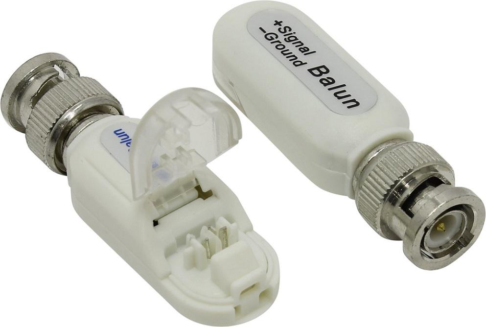 Адаптер Orient NT-603 одноканальное устройство для приема/передачи видеосигнала по витой паре (крышка-обжиматель, влагозащита), дистанция до 300м, с а