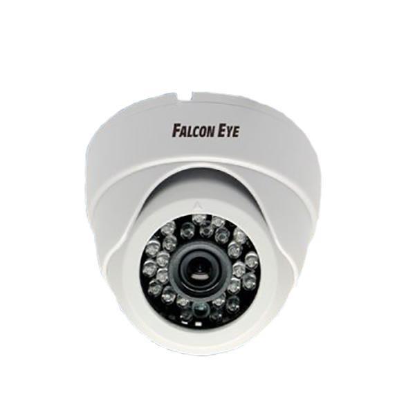 Камера Falcon Eye FE-ID720AHD/20M-2,8 Купольная цветная AHD видеокамера, 1/4' AR0141 1 Megapixel CMOS, 1280?720(25 fps), чувствительность 0.01Lux F1.2