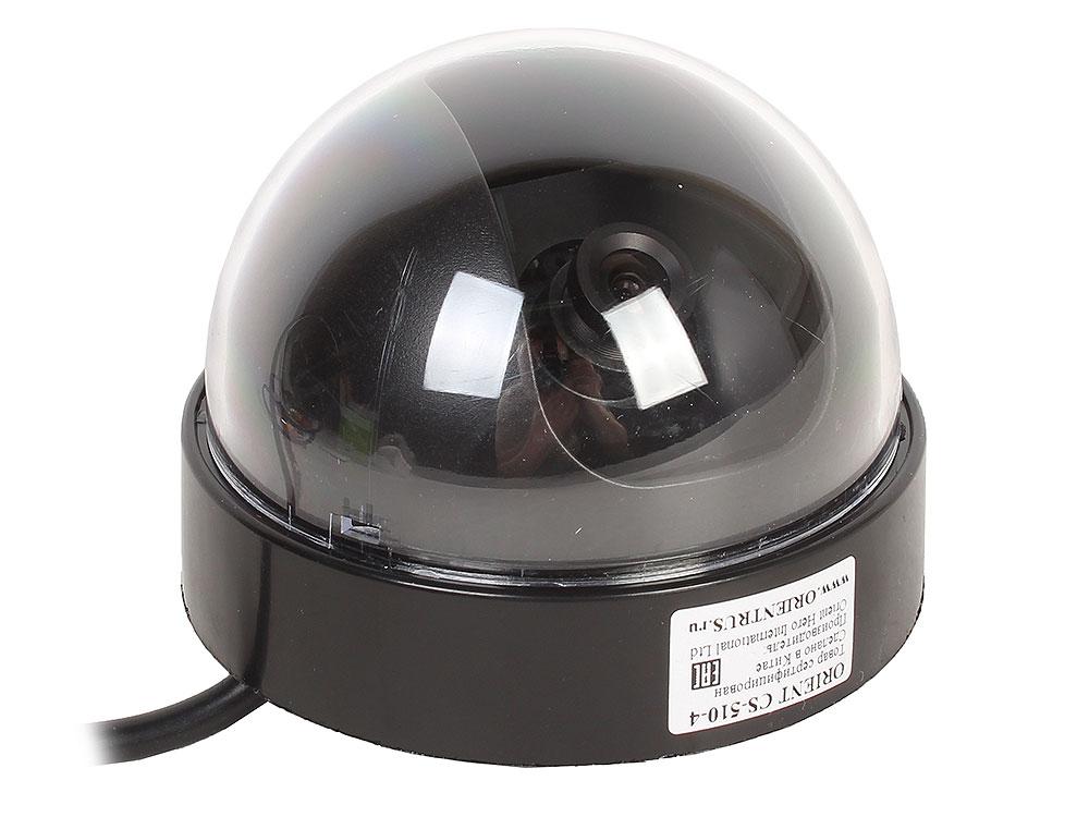 Камера наблюдения Orient CS-510-4 купольная 4 режима: AHD/CVBS/TVI/CVI камера 1Mpx, CMOS OMNIVISION, 720P/960H, 3.6 ММ, микрофон 960h 700tvl cmos security indoor cctv mini pir style 3 7mm lens surveillance camera