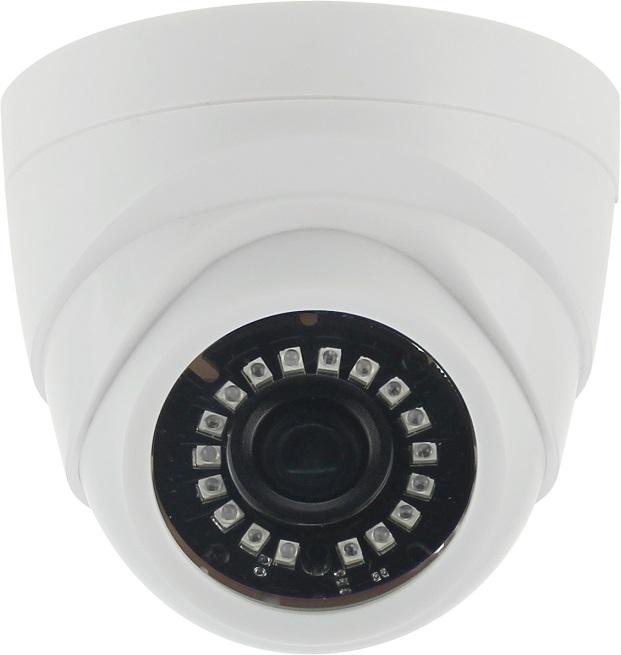 Камера наблюдения ORIENT AHD-940-OT10C-4 купольная 4 режима: AHD,TVI,CVI 720p (1280x720)/CVBS 960H, 1Mpx CMOS OmniVision OV9732, DSP HTC960, 6.0 mm le
