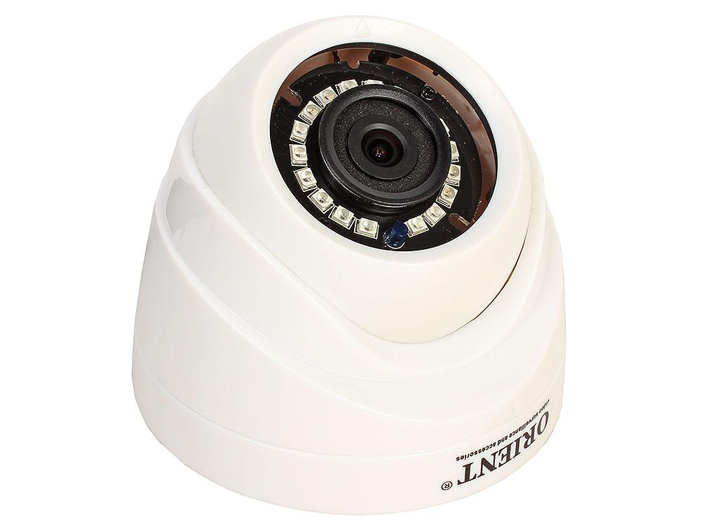 Камера наблюдения ORIENT AHD-940-OT10C-4 купольная 4 режима: AHD,TVI,CVI 720p (1280x720)/CVBS 960H, 1Mpx CMOS OmniVision OV9732, DSP HTC960, 6.0 mm le ahd камера orient ahd 90 on10v