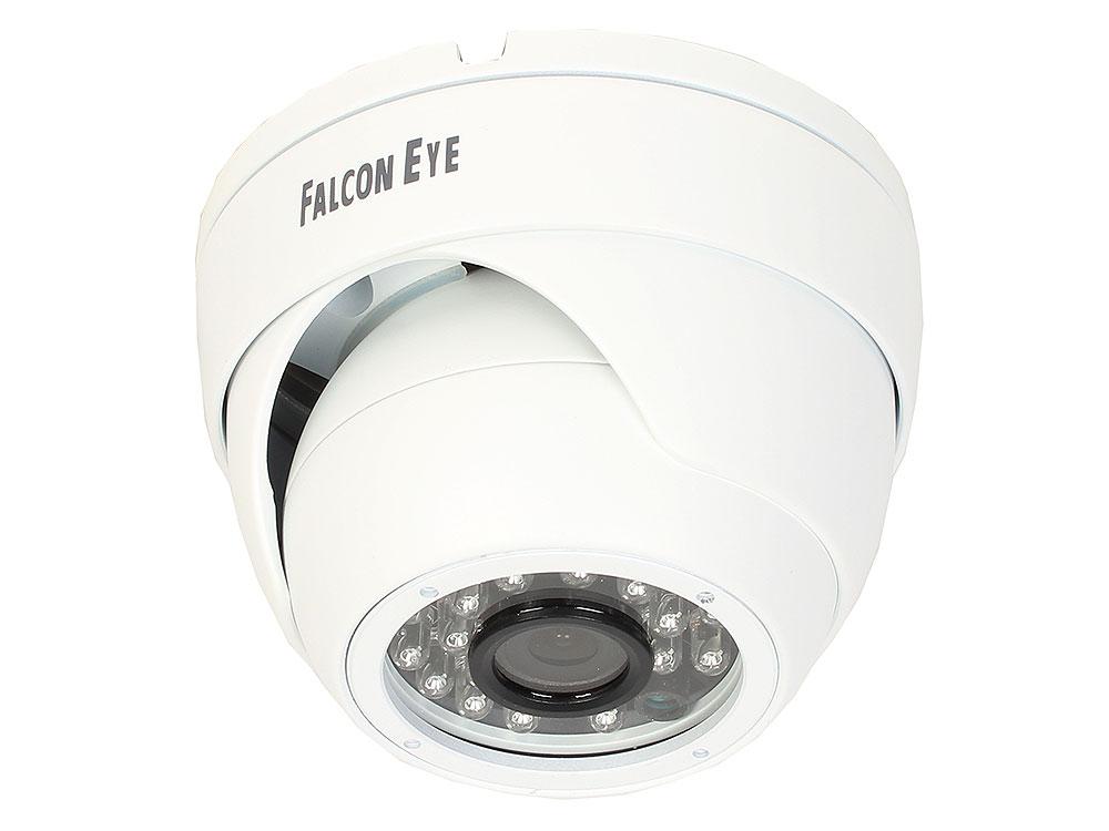 Камера Falcon Eye FE-ID720AHD/20M Купольная цветная AHD видеокамера, 1/4' AR0141 1 Megapixel CMOS, 1280?800, чувствительность 0.05Lux F1.2, объектив f=2,8 mm, дальность ИК 20м .Те ahd камера falcon eye fe idv1080mhd 35m af