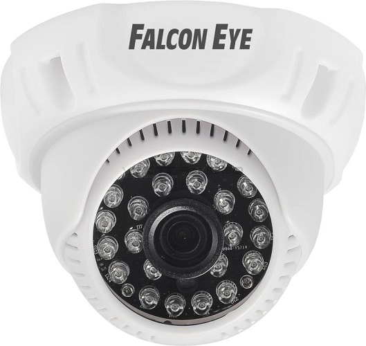 Камера Falcon Eye FE-D720MHD/20M-2,8 Купольная цветная гибридная видеокамера(AHD, CVI, TVI, CVBS), 1/4, 1280?720(25 fps), объектив f=2.8 mm evtevision 1080p camera ahd 4 in 1 ahd tvi cvi cvbs ar0237 2 0megapixel 3 6mm fixed lens security camera 20m night vision cctv