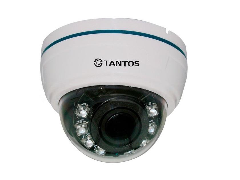 Камера TANTOS TSc-Di1080pHDv (2.8-12) CMOS Sensor, разрешение 2 Mp (1920 х 1080) 30 к/с ahd камера tantos tsc di960pahdf 3 6mm