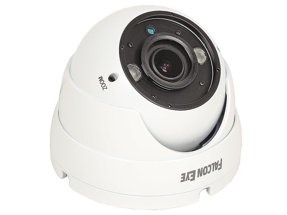 Камера Falcon Eye FE-IDV1080AHD/35M (белая) Уличная купольная цветная AHD видеокамера 1080P