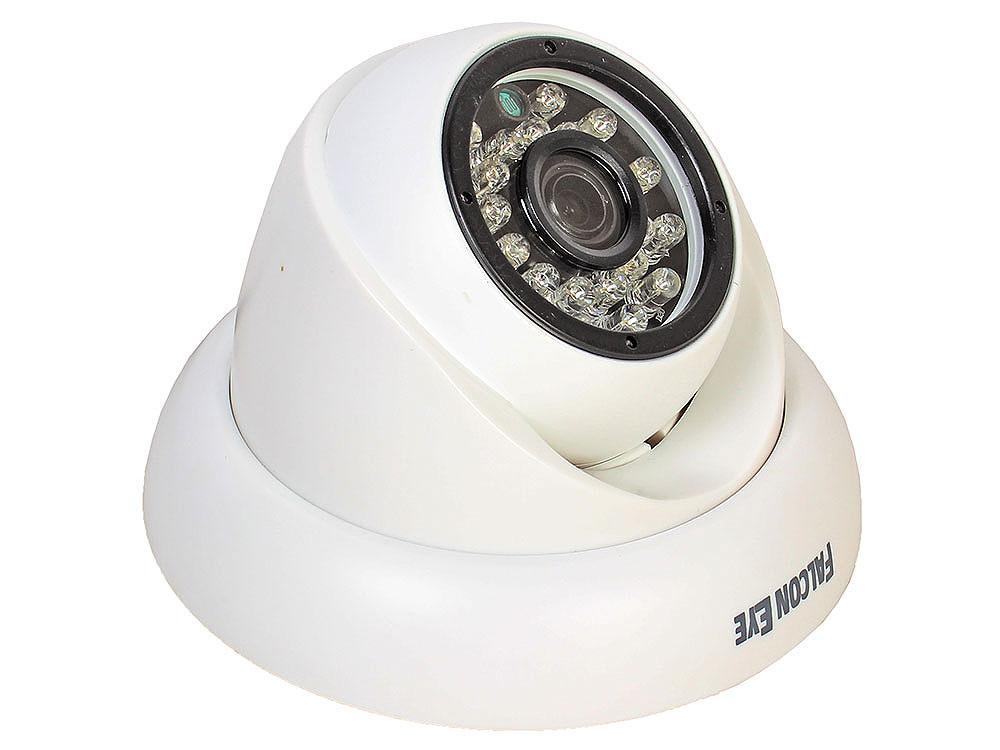 Камера Falcon FE-ID1080MHD/20M Уличная купольная цветная гибриднаяAHD видеокамера(AHD, CVI, TVI, CVBS) 1/2.8' Sony IMX322 Exmor CMOS