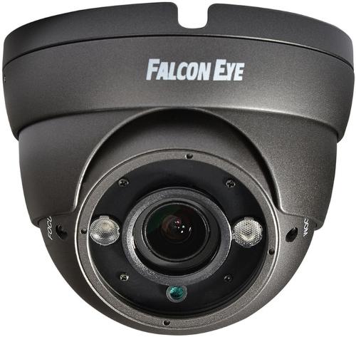 Камера Falcon Eye FE-IDV720AHD/35M (серая) Уличная купольная цветная AHD видеокамера 960P