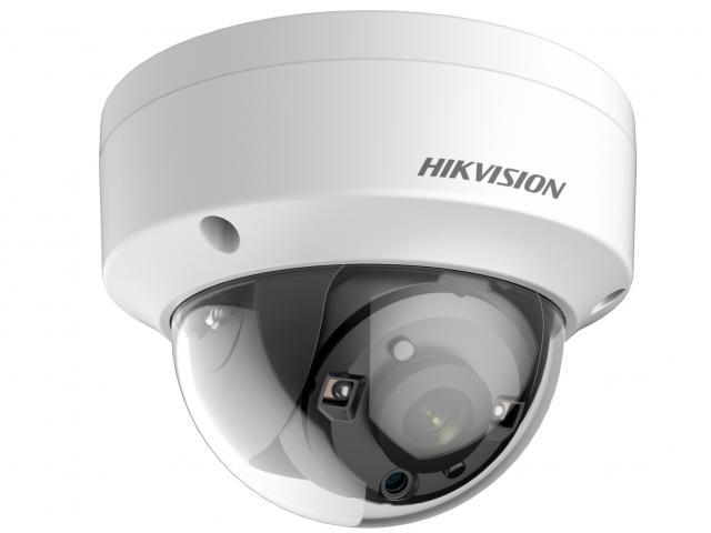Камера видеонаблюдения Hikvision DS-2CE56F7T-VPIT CMOS 6мм ИК до 20 м день/ночь аналоговая камера hikvision ds 2ce56f7t itz 2 8 12mm