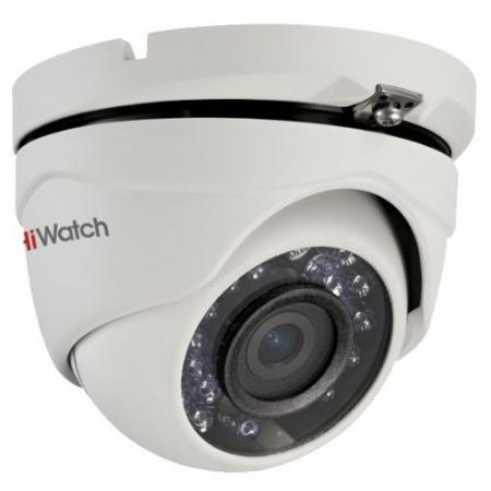 Камера видеонаблюдения Hikvision DS-T103 уличная цветная 1/4 CMOS 2.8 мм ИК до 15 м ip камера hiwatch ds i122 4 mm 1 3мп уличная купольная мини ip камера ик подсветкой до 15м 1 3 cmos матрица объектив 4мм угол обзора 73 1° ме