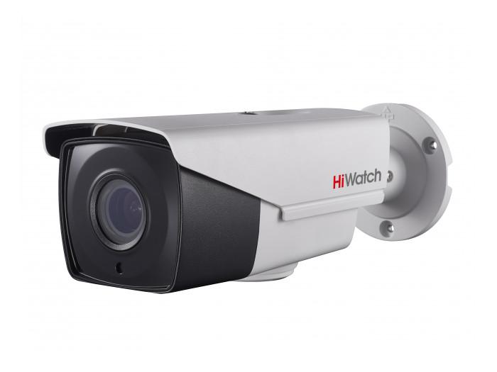 Камера HiWatch DS-T506 B (2.8-12 mm) 5Мп уличная цилиндрическая HD-TVI камера с ИК-подсветкой до 40м 1/2.7 CMOS матрица; моторизированный вариообъек ip камера hiwatch ds i126 2 8 12 mm 1 3мп уличная цилиндрическая ip камера с ик подсветкой до 30м 1 3 progressive scan cmos объектив 2 8 12мм у