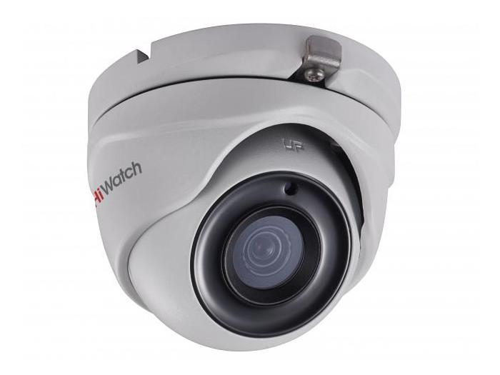 Камера HiWatch DS-T503 B (2.8-12 mm) 5Мп уличная HD-TVI камера с ИК-подсветкой до 20м1/2.7 CMOS матрица; объектив 2.8мм; угол обзора 86.5°; 2592x194 ip камера hiwatch ds i128 2 8 12 mm 1 3мп уличная купольная ip камера с ик подсветкой до 20м 1 3 progressive scan cmos объектив 2 8 12мм угол о