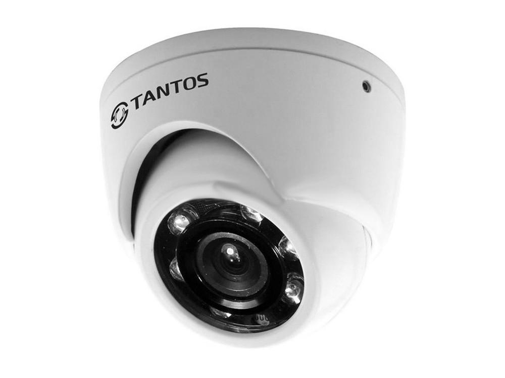 """Камера TANTOS TSc-EBm1080pHDf (3.6) Антивандальная купольная универсальная UVC видеокамера 1080P «День/Ночь», 1/2.9"""" Sony Exmor Progressive CMOS Senso"""