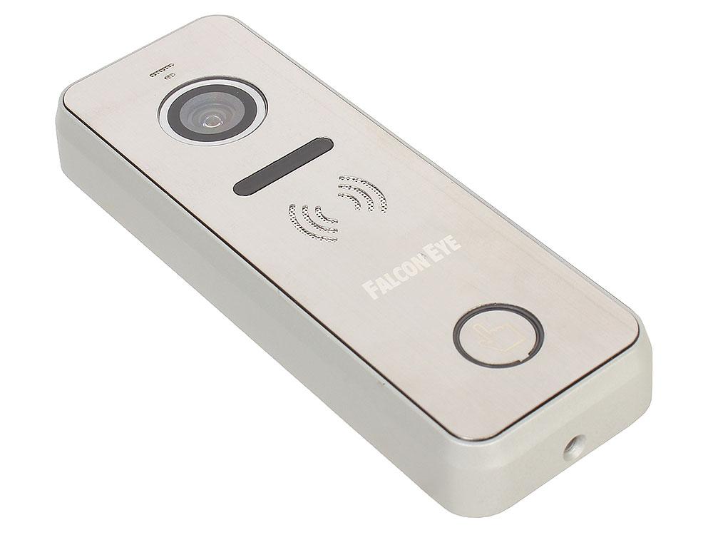 Вызывная панель Falcon Eye FE-iPanel 1 6х проводная; антивандальная накладная видеопанель; с Led подветкой до 1м, матрица CMOS,  800 ТВл, 12В,  рабоч