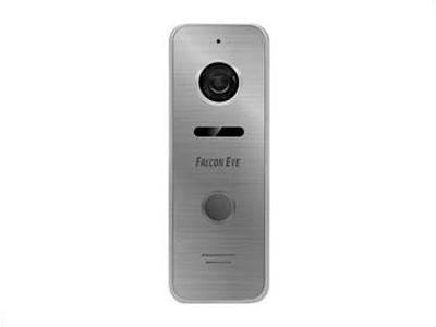 Вызывная панель Falcon Eye FE-ipanel 3 silver 4-х проводная; антивандальная накладная видеопанель; с Led подветкой до 1м, матрица CMOS,  800 ТВл, 12В, falcon eye fe ve02 silver видеоглазок