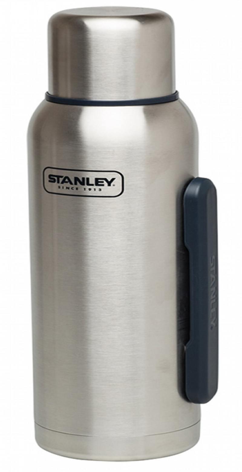 Термос Stanley Adventure 1.3л серебристый 10-01603-002 штангенциркуль stanley 0 150mm 36 101 23 0 300mm 36 102 23